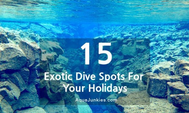 15 Exotic Diving Spots For Your Scuba Diving Holidays