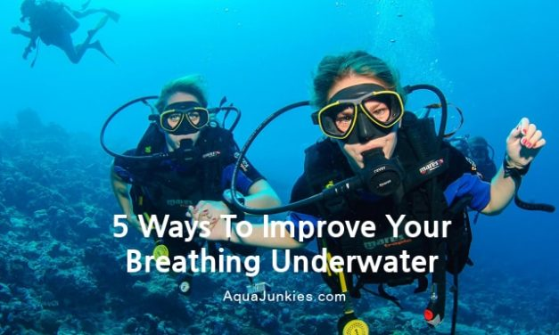 5 Ways to Improve Your Scuba Dive Breathing Underwater